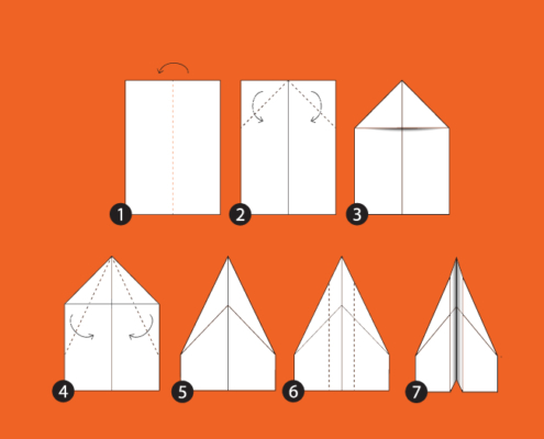 How to Fold a Paper Plane