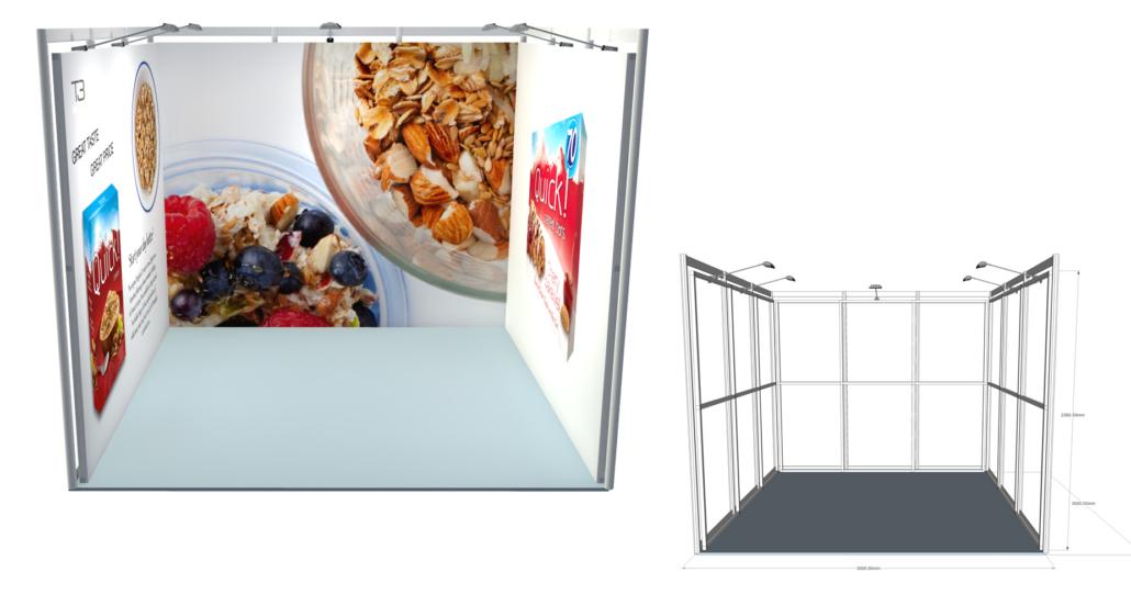 Exhibition Display Solutions : Exhibition display minprint