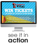 Tennents Vital Enter to Win Competition