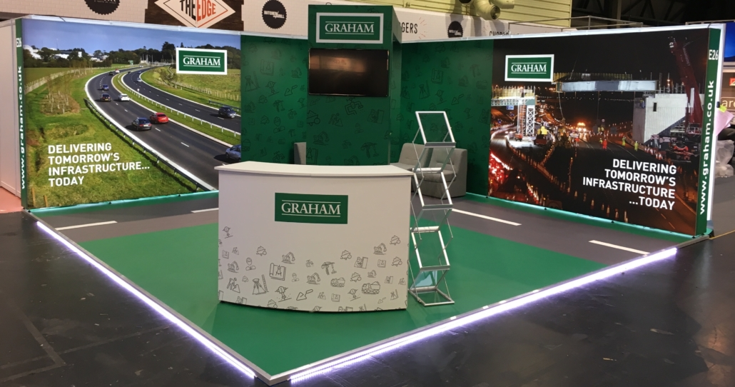 Exhibition Stand Raised Floor : Graham construction exhibition stand minprint